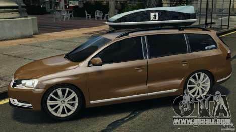 Volkswagen Passat Variant B7 for GTA 4 left view