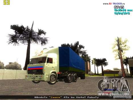 Nefaz 93344 for GTA San Andreas right view