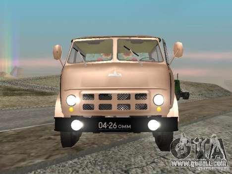 MAZ 503 for GTA San Andreas right view