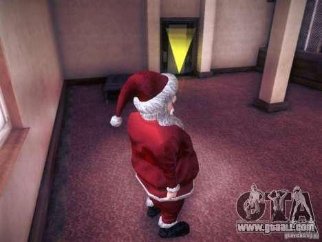Santa Claus for GTA San Andreas forth screenshot