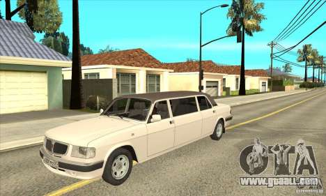 GAZ 3110 Sedan for GTA San Andreas