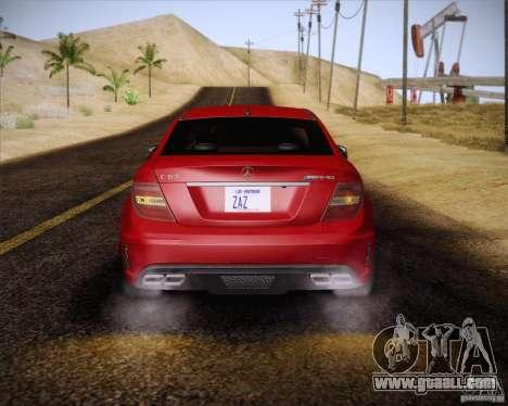 Improved Vehicle Lights Mod for GTA San Andreas sixth screenshot