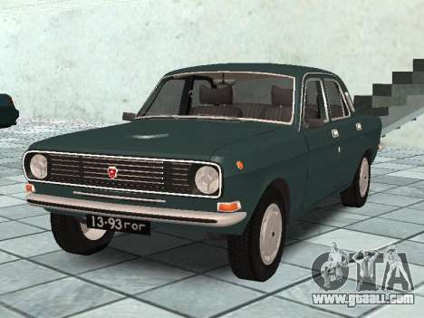 GAZ 24-10 v 2. for GTA San Andreas