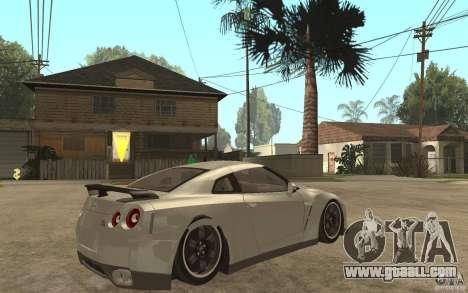 Nissan GTR SpecV 2010 for GTA San Andreas