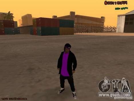 Ballas skins for GTA San Andreas