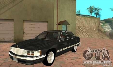 Cadillac Deville v2.0 1994 for GTA San Andreas