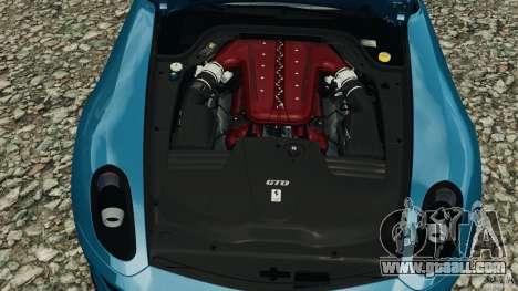 Ferrari 599 GTO 2011 for GTA 4 inner view