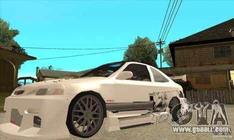 Honda Civic Tuning Tunable for GTA San Andreas interior