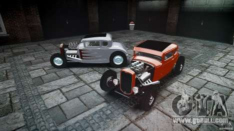 Ford Hot Rod 1931 for GTA 4 bottom view