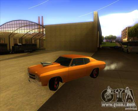 Chevy Chevelle SS Hell 1970 for GTA San Andreas
