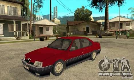 Alfa Romeo 164 for GTA San Andreas