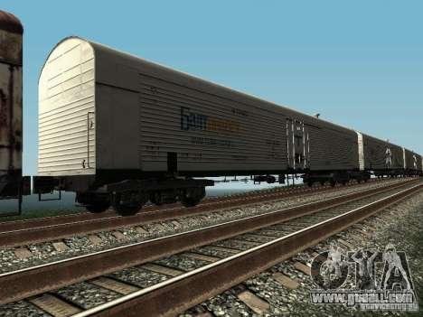 Refrežiratornyj wagon Dessau No. 5 prima audit for GTA San Andreas