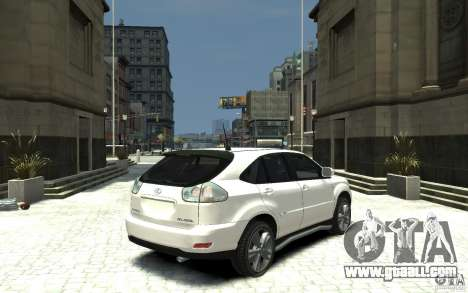 Lexus RX 400h for GTA 4 right view