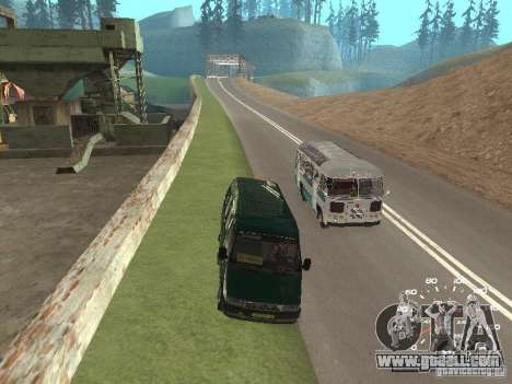 GAZ 32213 for GTA San Andreas inner view