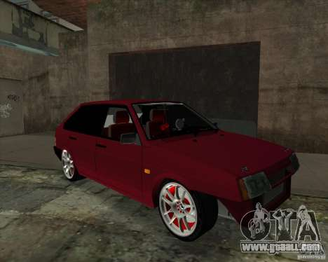 VAZ 2109 Drift for GTA San Andreas left view