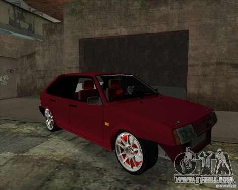 VAZ 2109 Drift for GTA San Andreas left view