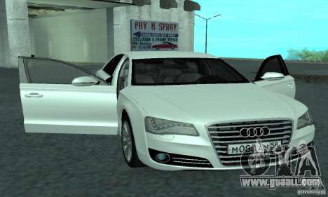 Audi A8 for GTA San Andreas