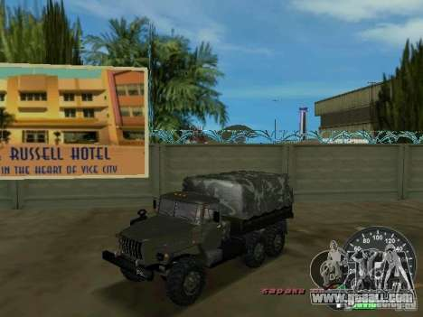 Ural 4320 Military for GTA Vice City