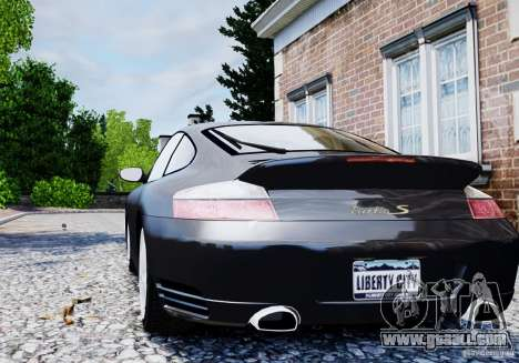 Porsche 911 Turbo S for GTA 4 right view