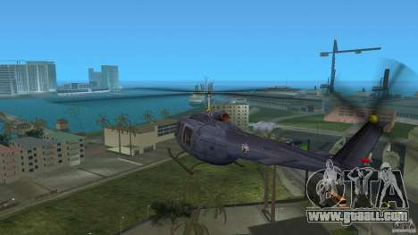 Maverick Bell-Huey for GTA Vice City right view