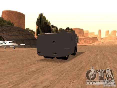 A police water cannon Rosenbauer v2 for GTA San Andreas right view