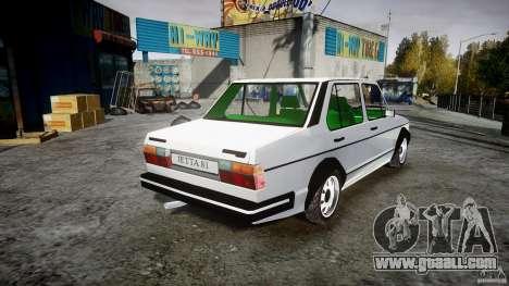 Volkswagen Jetta 1981 for GTA 4 inner view