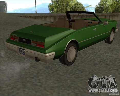HD Idaho for GTA San Andreas back view