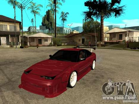 Nissan 240SX Tuned for GTA San Andreas