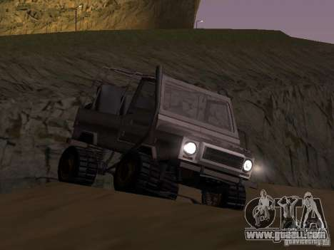 Luaz 969 Offroad for GTA San Andreas