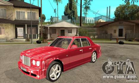Bentley Arnage T for GTA San Andreas left view