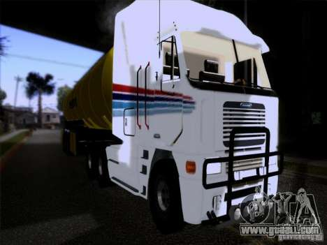 Freightliner Argosy Skin 3 for GTA San Andreas left view