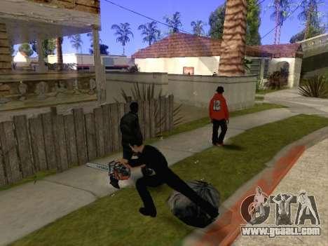 Chainsaw Massacre v. 2.0 for GTA San Andreas