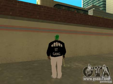 New thick Groove for GTA San Andreas fifth screenshot