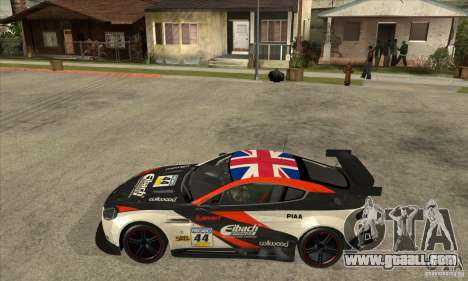 Aston Martin v8 Vantage N400 for GTA San Andreas back left view