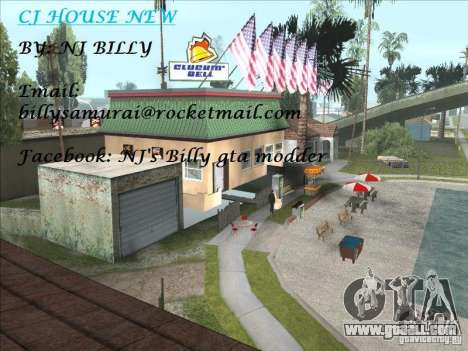 CJ house cleo for GTA San Andreas second screenshot