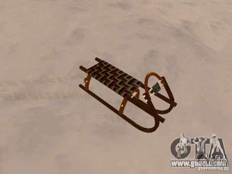Sledge v2 for GTA San Andreas