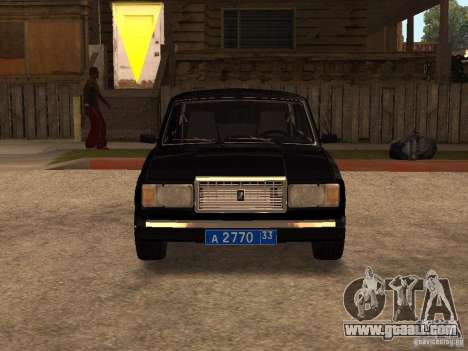 VAZ 21073 Service for GTA San Andreas left view