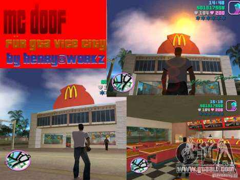 McDonalds for GTA Vice City
