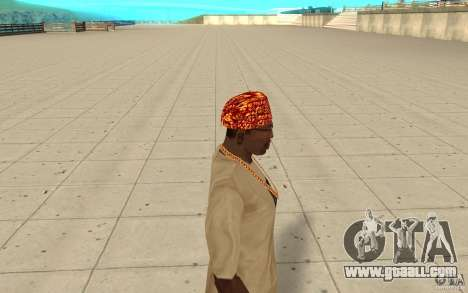 Halloween bandana for GTA San Andreas second screenshot