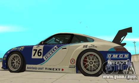 Porsche 911 Le GRID for GTA San Andreas back left view