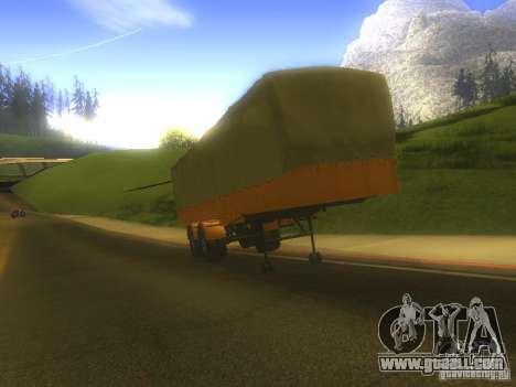 Trailer MAZ 5205 for GTA San Andreas