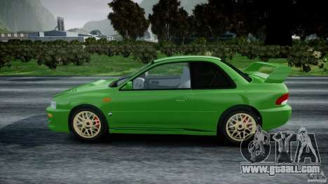 Subaru Impreza 22b 1998 (final) for GTA 4 left view