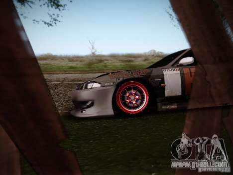 Nissan Silvia S14 Hell for GTA San Andreas back view