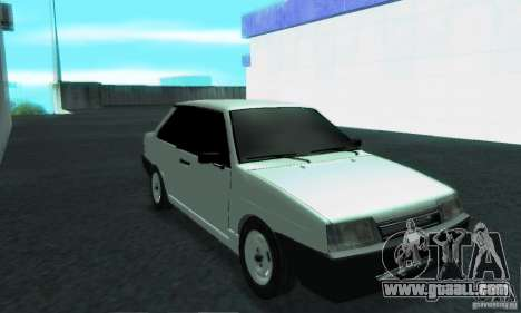 VAZ 21099 Coupe for GTA San Andreas inner view