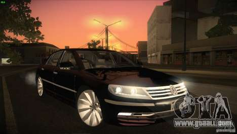Volkswagen Phaeton W12 for GTA San Andreas side view