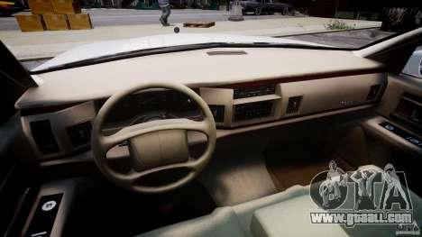 Buick Roadmaster Sedan 1996 v1.0 for GTA 4 back view