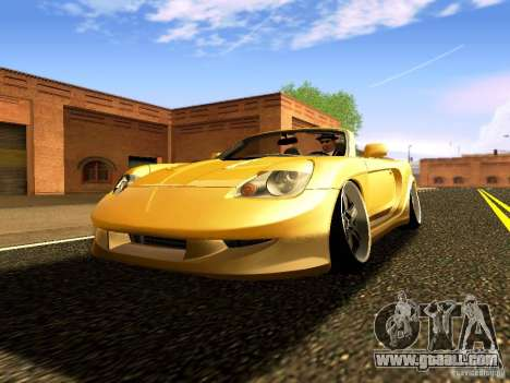 Toyota MR-S for GTA San Andreas back view
