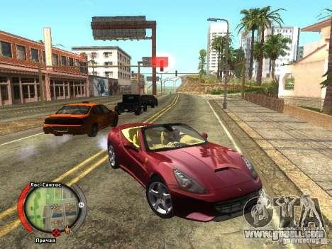New HUD by shama123 for GTA San Andreas second screenshot