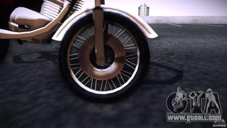 Honda CG 125 for GTA San Andreas right view