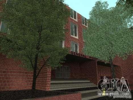 New textures hospital for GTA San Andreas